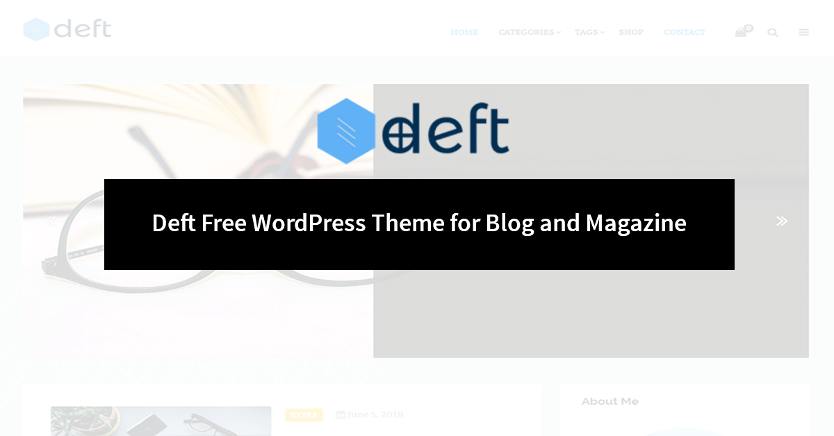 Deft Free WordPress Theme