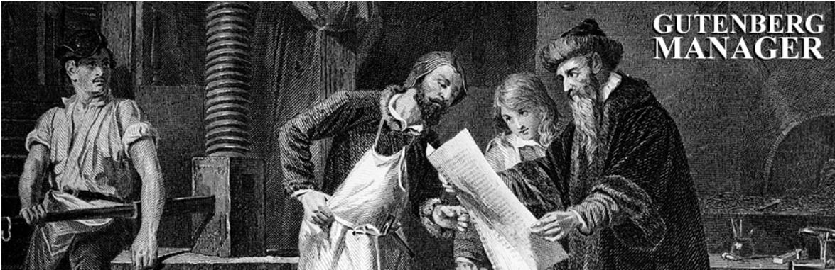 Gutenberg Manager