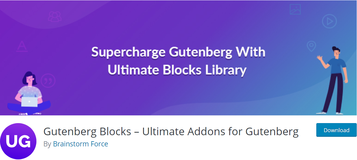 Gutenberg Blocks wordpress plugin